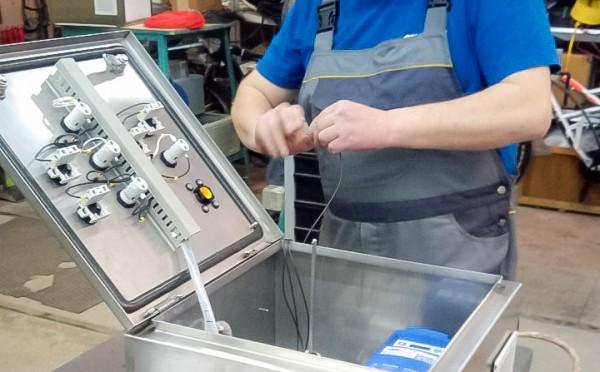 Шафа керування частотним електроприводом для об'єкту Замовника